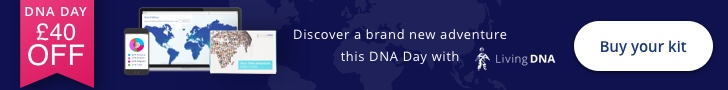 Living DNA £40 Off 3-in-1 Ancestry DNA Kits