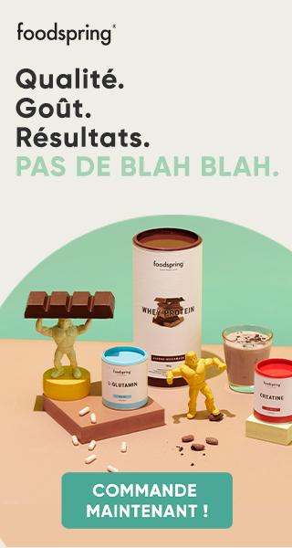 Publicité Foodspring
