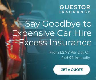 Questor Car Hire Excess Insurance