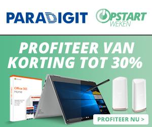 Paradigit opstartweken korting tot 30% profiteer nu!