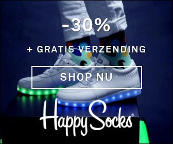 Happy Socks 30%korting +gratis verzending