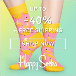 Happy Socks  summer sale kortingen tot -40%