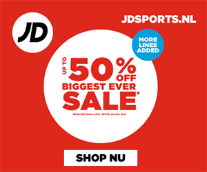 JD sports sale tot 50% korting
