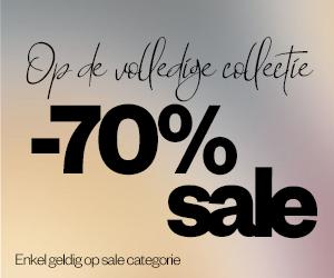 70% korting op de volledige sale collectie Maison-Lab