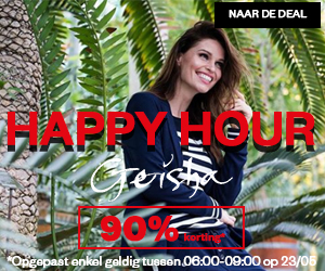 Happy Hour: Geisha korting 90%