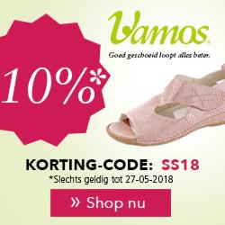 Vamos schoenen 10% korting