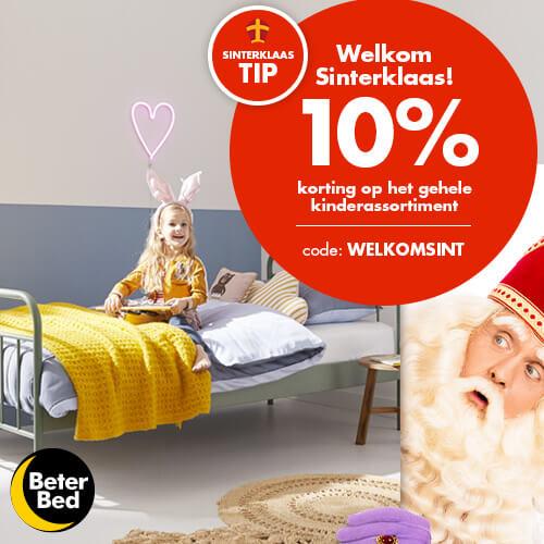 Beter Bed 10% korting op het complete kinderassortiment