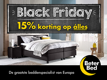 Beter Bed Black Friday - Black Friday Sale