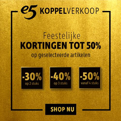 e5mode Koppelverkoop feestelijke kortingen tot 50%