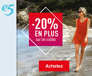 E5 Shop nu nog meer favorieten in de solden aan hogere kortingen èn 10% extra korting!