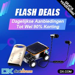 Flash deals (gratis verzending) dagelijkse aanbiedingen tot wel 90% korting