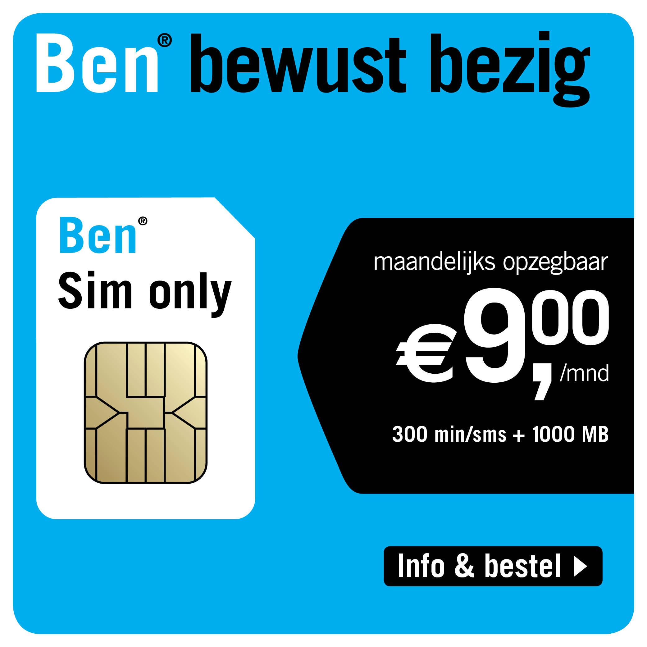 Lebara | Sim Only 10GB voor € 16,-
