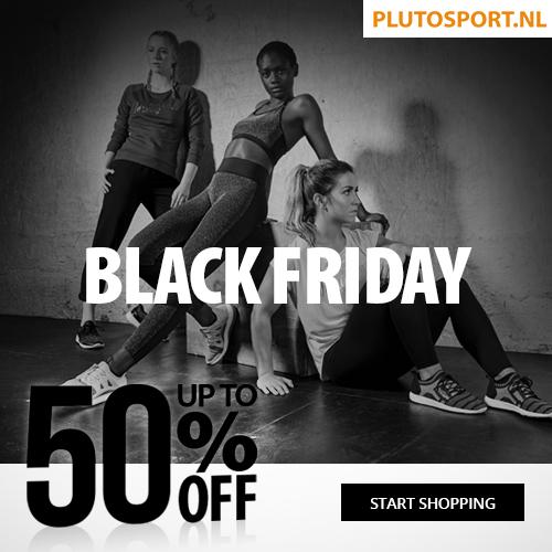 Black Friday - tot 50% korting Plutosport