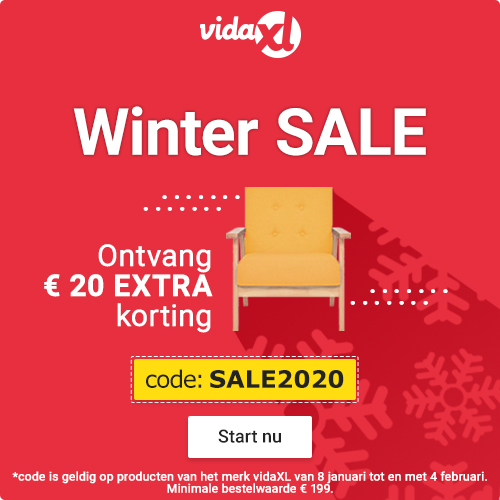 Wintersale Vida XL ontvan € 20,- extra korting