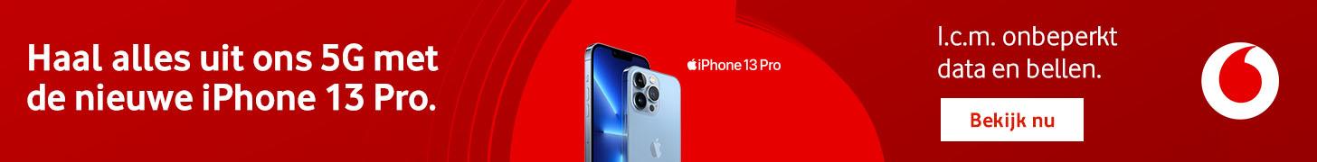 De nieuwe iPhone 13 Pro met 5G van Vodafone