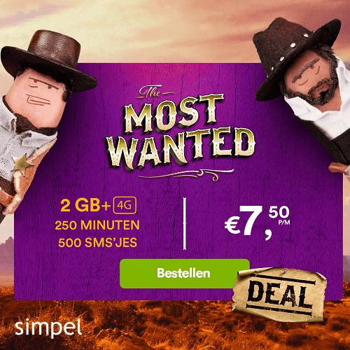 Simpel.nl : Eurokrakers sim-only actie | Eerste 6 maanden voor 1 euro per maand