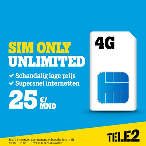 onbeperkt bellen  Sim Only Unlimited