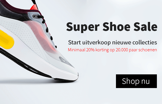 Super Shoe Sale bij To Be Dressed
