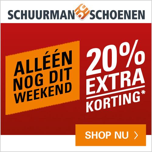 Schuurman schoenen final sale 20% extra korting op de afgeprijsde collectie