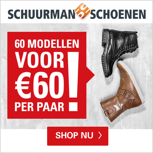 Schuurman Schoenen 60 modellen voor € 60.-