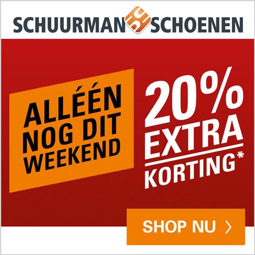 schoenen - Final Sale laatste week 20% extra korting -