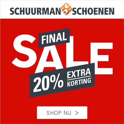 Final Sale met 20% extra korting bij SchuurmansSchoenen