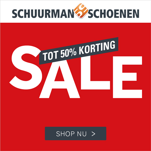 Sale tot 50% korting Schuurman Schoenen
