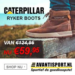 Carterpillar Ryker boots van  € 124,95 voor € 59,95