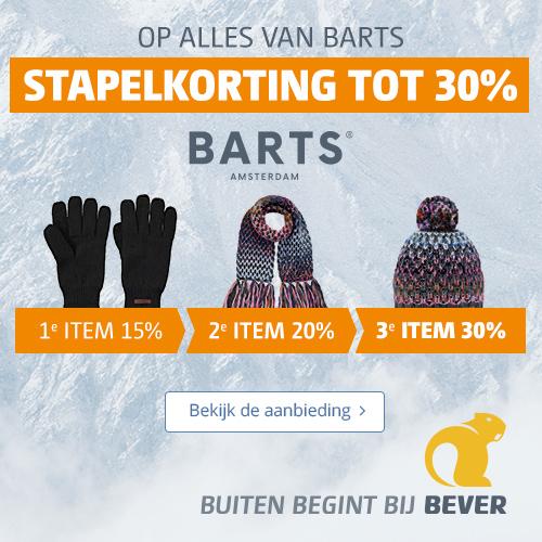 Bever | Ontvang tot maar liefst 30% stapelkorting op alles van Barts! 1 item = 15% korting, 2 items = 20% korting, en 3 items = 30% korting. Op=op.