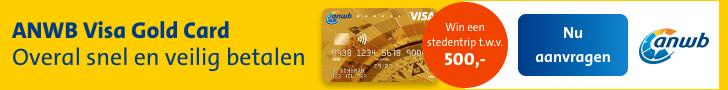 ANWB Visa Gold Card details