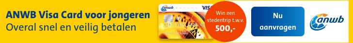 ANWB Visa card jongeren vergelijken
