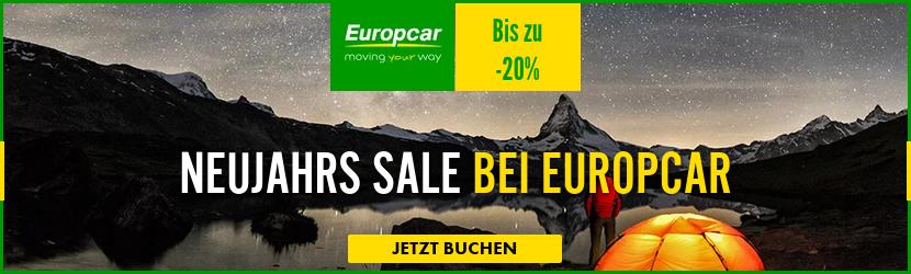 Herbsturlaub Angebote Europcar, Europcar aktion, Herbst sale Europcar, Mietwagen billig, black week Europcar