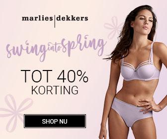 Swing into Spring | 40% korting op geselecteerde stijlen | Marlies Dekkers