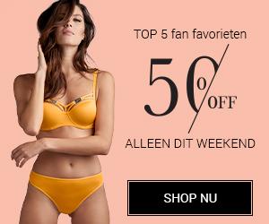 Marlies Dekkers : alleen dit weekend top 5 fan favorieten 50% korting