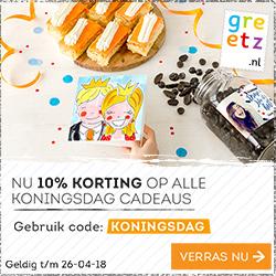 10% Korting op Koningsdag Cadeaus