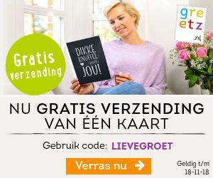 online kaarten versturen - korting code  - vegalifestyle.nl