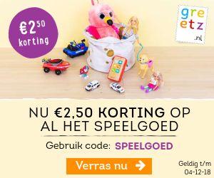 € 2,50 korting op speelgoed