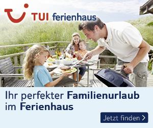 tui-ferienhaus.de Ferienhäuser und Ferienwohnungen, Familienurlaub