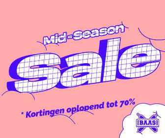 Mid -season sale tot 70% korting Sneakerbaas