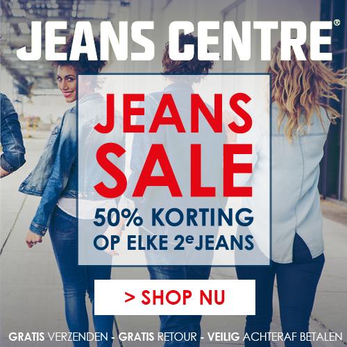 Jeans Centre | Jeans sale 50% korting op elke 2e jeans