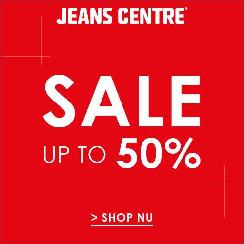 Sale Jeans Centre tot 50% korting