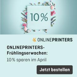 Werbung Onlineprinters